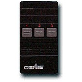 Remote control w/3 buttons for a Genie DIP-switch garage door opener